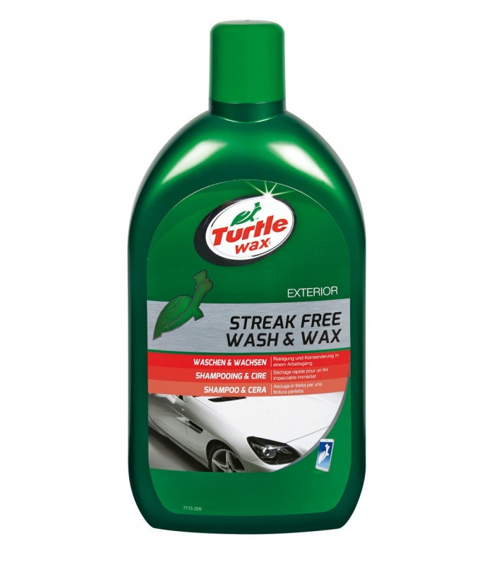 """WASH & WAX"" SHAMPOO+CERA..."